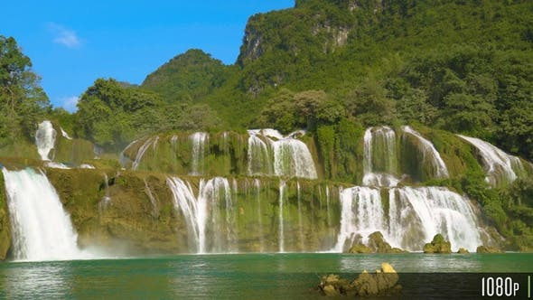 Thumbnail for Ban Gioc Detian Waterfall in Vietnam Southeast Asia