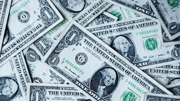 Thumbnail for Ein Dollar. USA Geldscheine