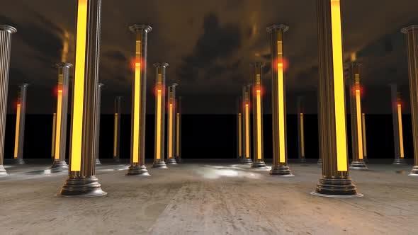 Thumbnail for Pillar Lights vj loop