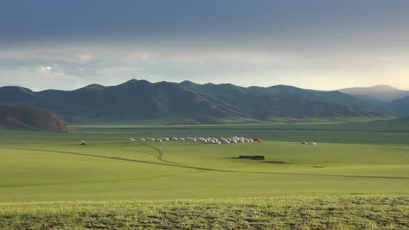 Mongolian Yurt Camp