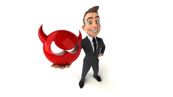 Thumbnail for 10 cartoon Business men