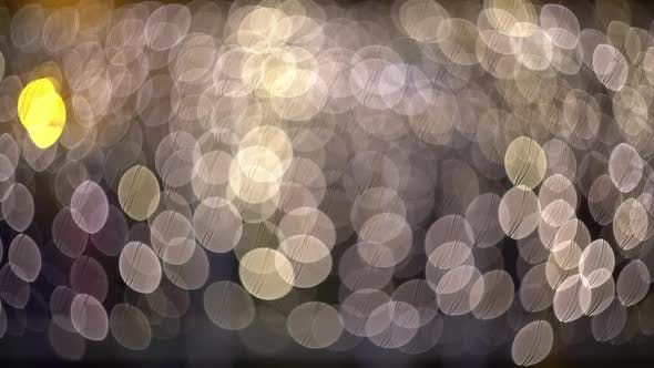 Ambient Abstract Bokeh Particles Background  Video