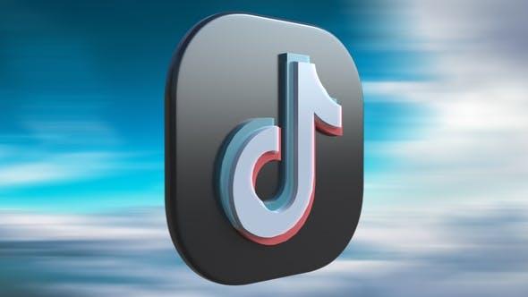 3 different tiktok logo animations