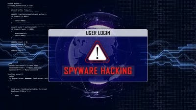 SPYWARE HACKING and User Login Interface