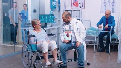 Coronary Artery Disease Explanation From Doctor