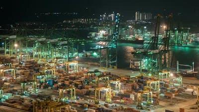 Cargo With Harbor