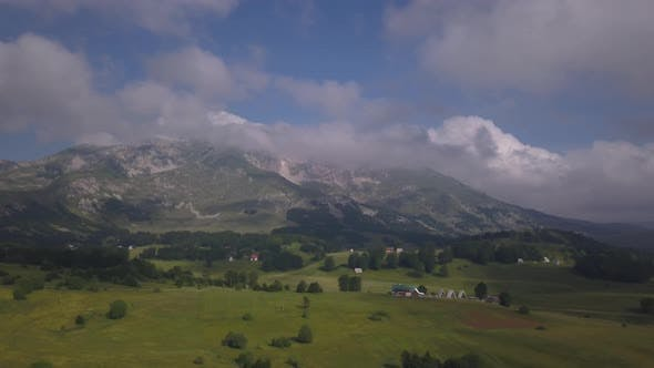 Cover Image for Aerial View on Bobotov Kuk Near the Durmitor Park, Montenegro