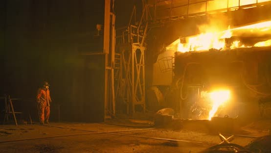 Thumbnail for Copper production at the metallurgical plant