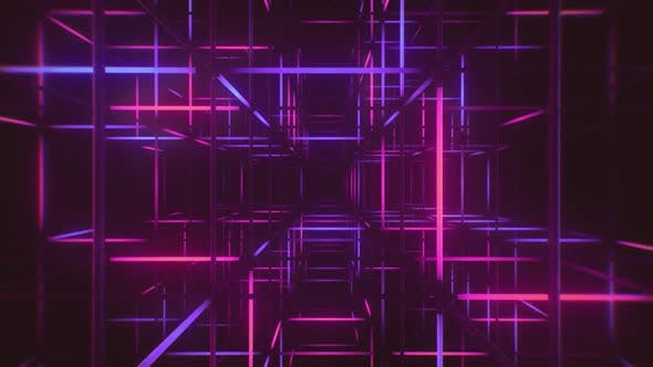 Neon Tubes Background
