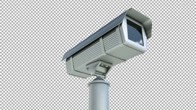 Security Camera Alpha Channel