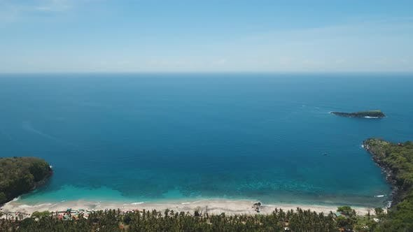 Cover Image for Aerial View Beautiful Beach. Bali,Indonesia