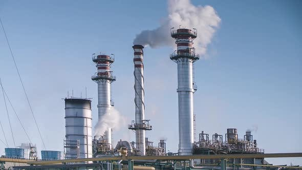 Thumbnail for pollution factory industry climate change energy smoke power environment petrol