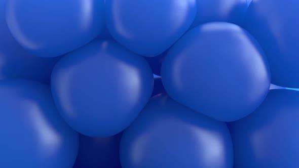 Abstract  Spheres Blu