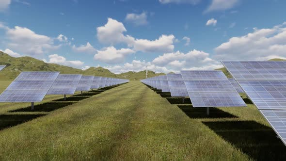 Solar Panel 4 K