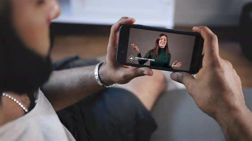 Video Blog on Smartphone