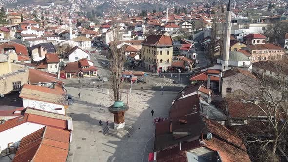 Thumbnail for Aerial View Of Sarajevo City -