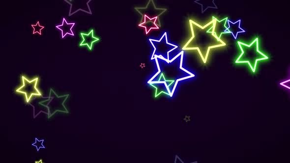 Thumbnail for Motion retro stars abstract background