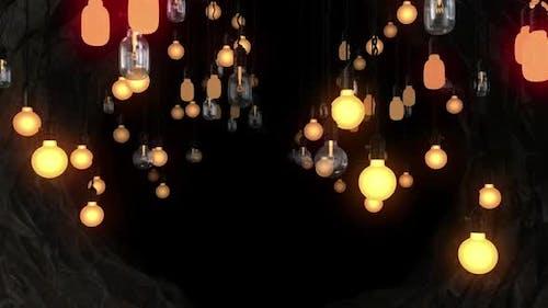 Light Bulb Tunnel 01 Hd