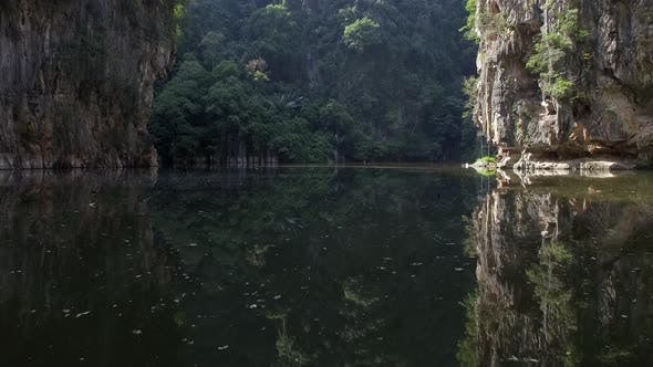 Thumbnail for Aerial view of Little Guilin natural park, Ipoh, Malaysia.