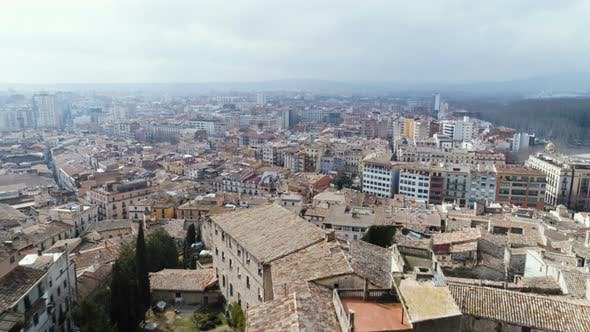 Thumbnail for Aerial View Of Girona City
