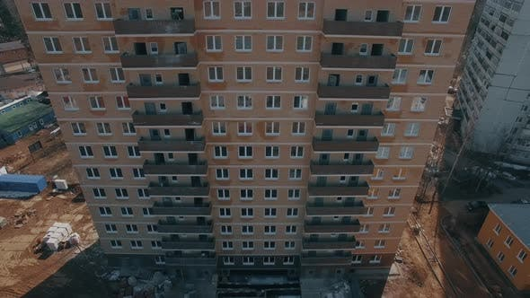 Thumbnail for Aerial View of New Block of Flats Built in Suburbs, Russia