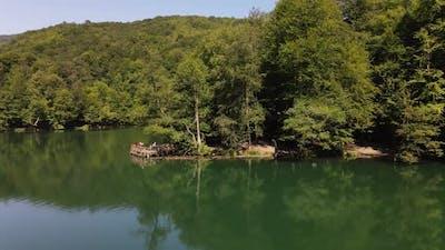 Lake National Park Sunny Day