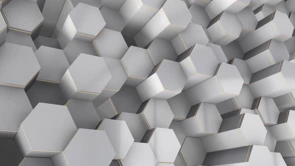 Abstract Gray Cells Background 1