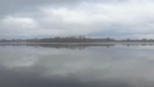 Island River Cloudy