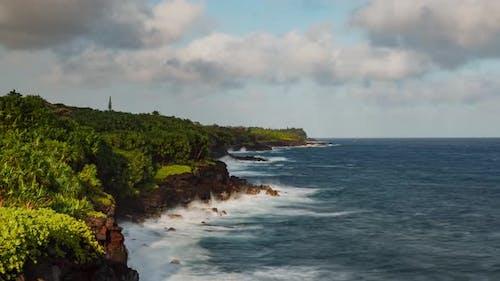 Time Lapse Hawaii Coastline