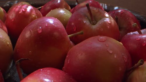 Red Juicy And Healthy Fruit Apple 6