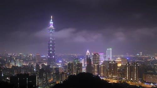 Taipei Taiwan City Timelapse