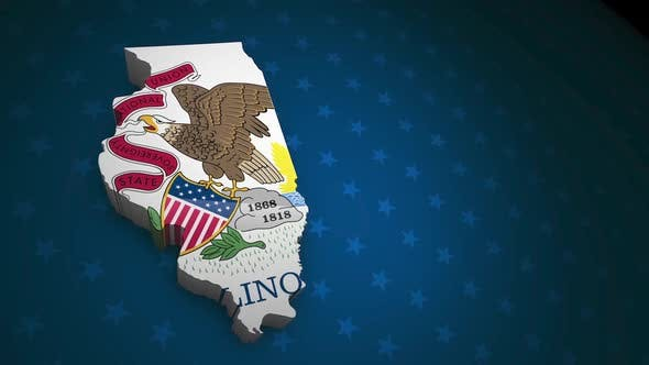 Illinois State Election Backgrounds HD - 7 Pack