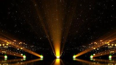 Golden Stage Background