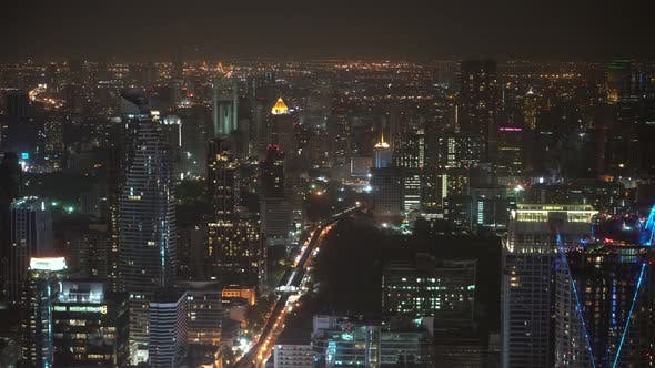Thumbnail for city view of skyscrapers, business financial centers and corporate buildings