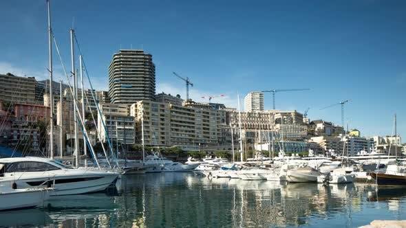 Thumbnail for monaco monte carlo port harbour riviera france sea coast boats