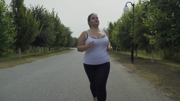 Thumbnail for Fat Girl Runs Along the Road