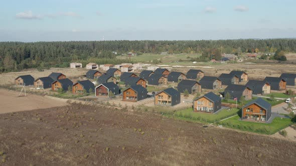 Thumbnail for New Houses in Typical Suburban Residence Area
