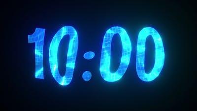 10 Minutes Liquid Countdown