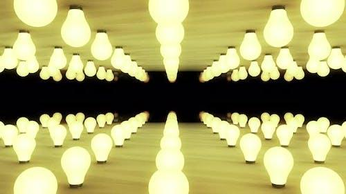 Light Bulb Bg 4k