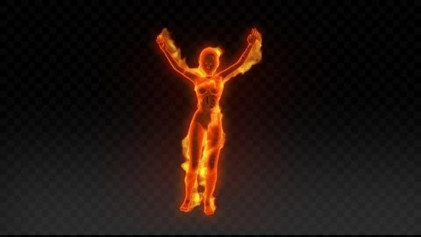 Fiery Girl Dance 1