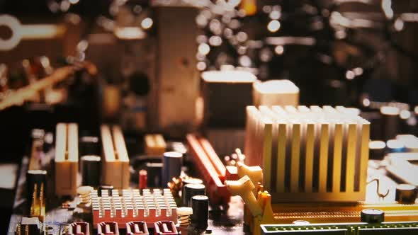 Thumbnail for Motherboard Hardware Electronic Technology Macro View 18