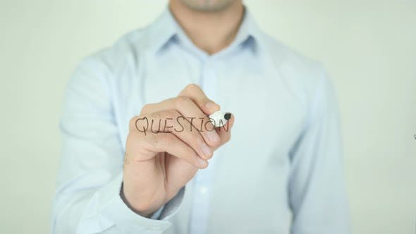 Thumbnail for Questions, Writing On Screen
