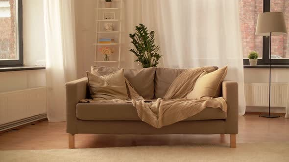 Thumbnail for Sofa with Cushions at Cozy Home Living Room 3