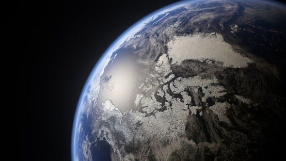 Thumbnail for Rotating Earth Globe