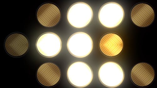 Lights Bulbs Flashing