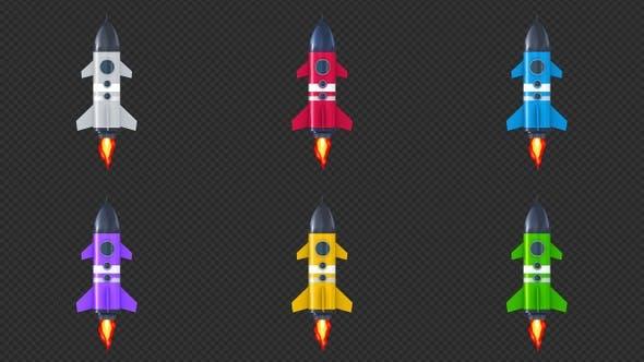 Thumbnail for Weltraum-Rakete