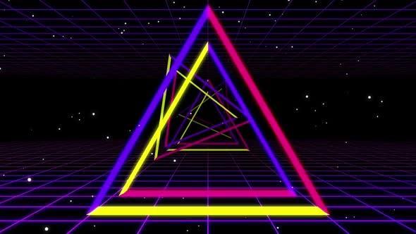Triangle Neon 01 Hd