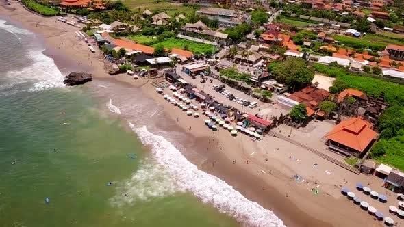 Thumbnail for Aerial Shot of Bali Coastline