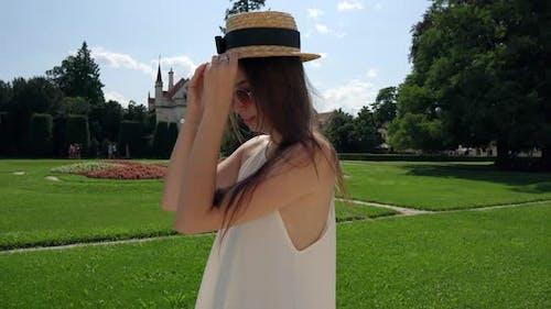 Carefree Walk in Beautiful Park of Lednice Palace Czechia