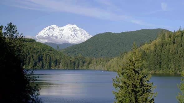 Thumbnail for Mt Rainier Lake Wilderness Environment Shot
